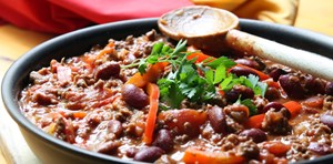 The Best EVER Vegetarian Chilli